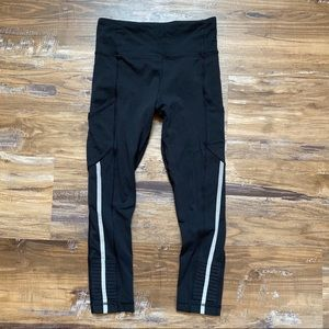 Lululemon- Reflective 7/8 leggings